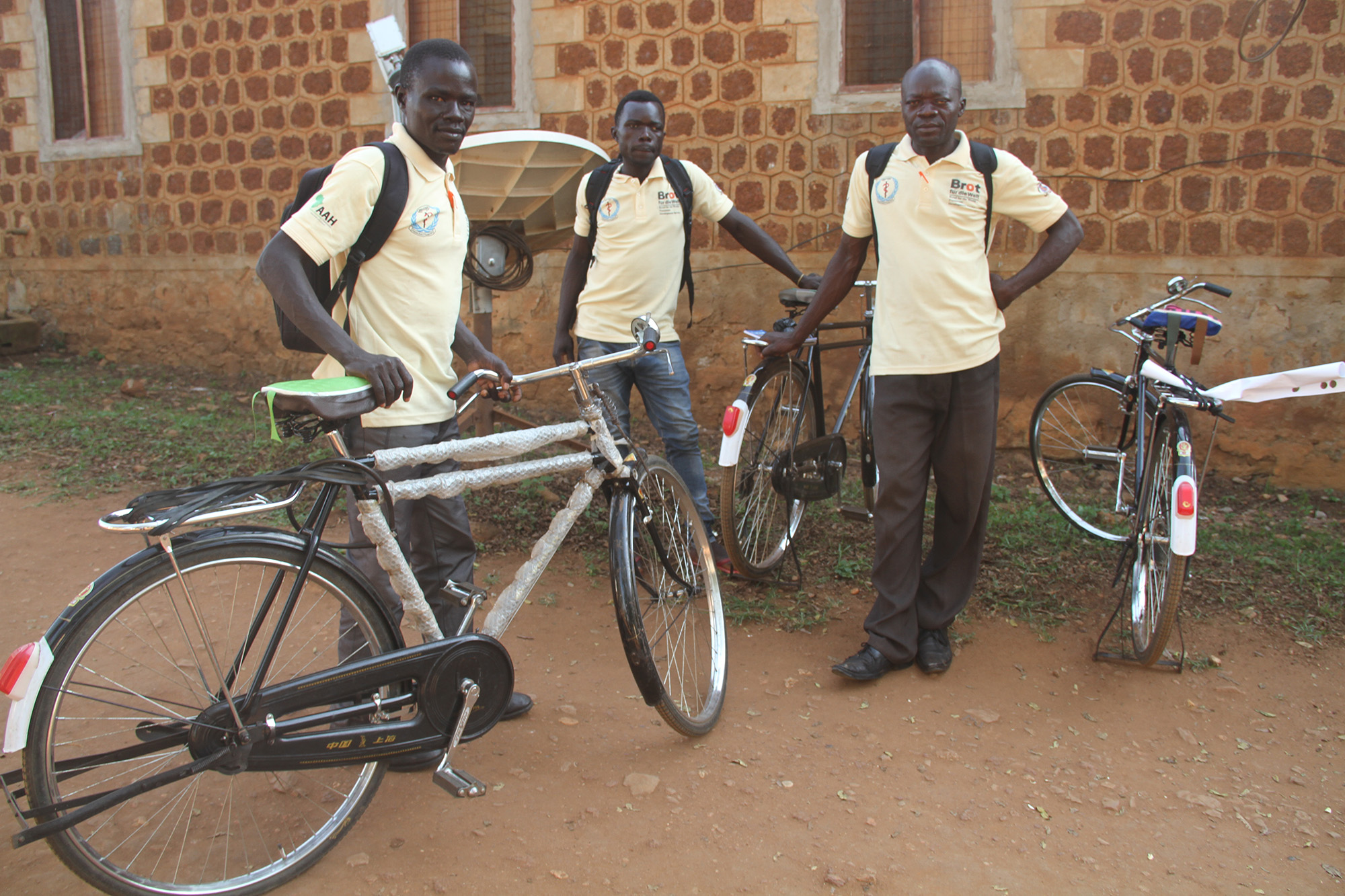 AAH SS Boma Health Teams getting to the field