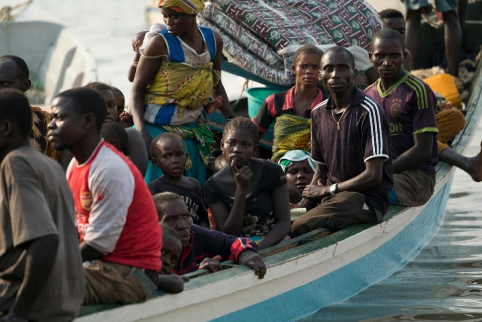 Refugees from DRC, photo courtesy UNHCR